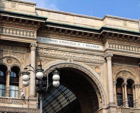 Milano grad mode i dizajna