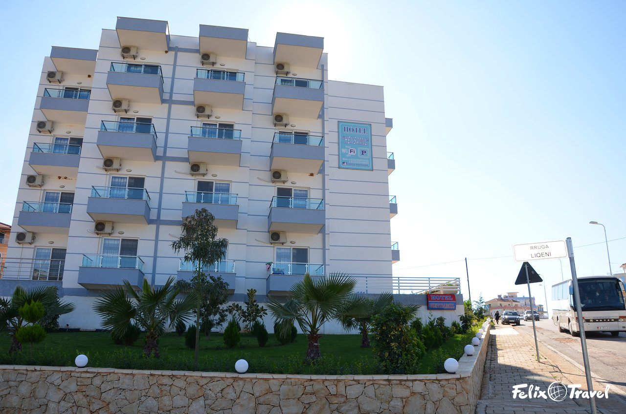 Albanija Hotel Heksamil Ksamil letovanje 2021