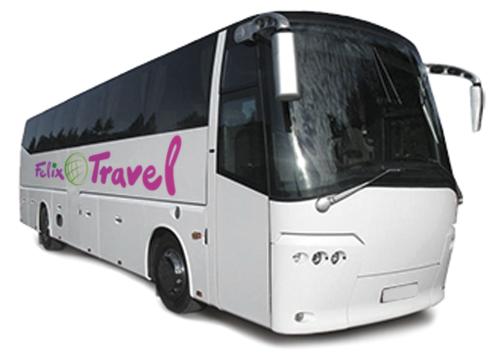 iznajmljivanje autobusa felix travel