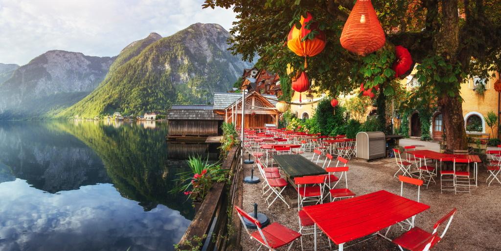 Putovanje Jezera Austrije Halštat