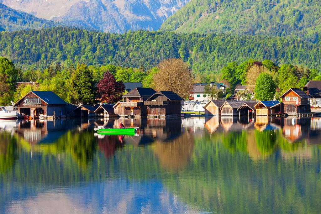 Putovanje Jezera Austrije Wolfgangsee