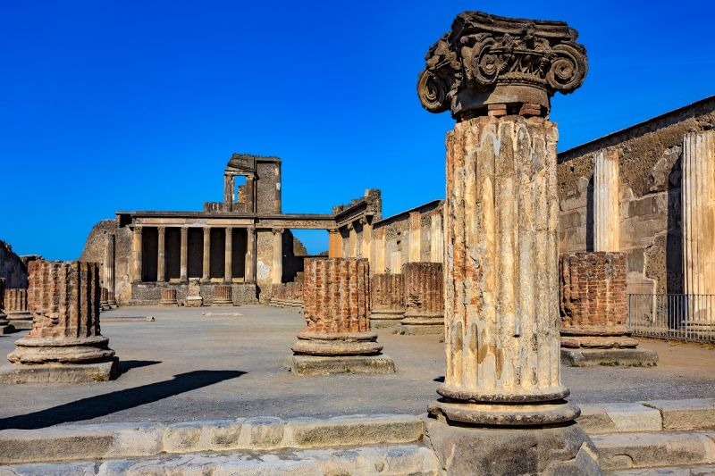 Putovanje Italija Pompeja