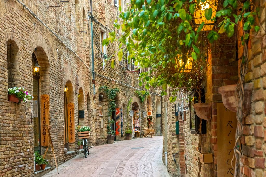 Putovanje Italija Toskana San Điminjano