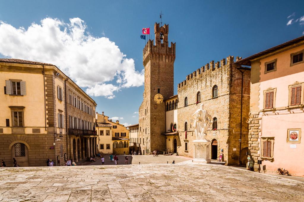 Putovanje Italija Umbrija Toskana Arezzo