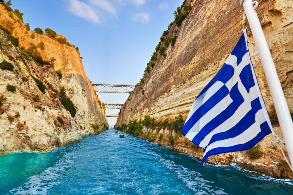 Putovanje Peloponez Korintski Kanal