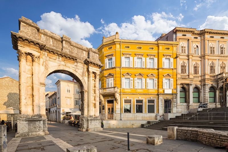 Putovanje Hrvatska Istra Pula