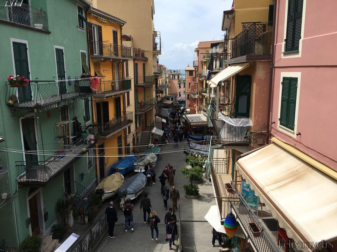 Letovanje Cinque Terre