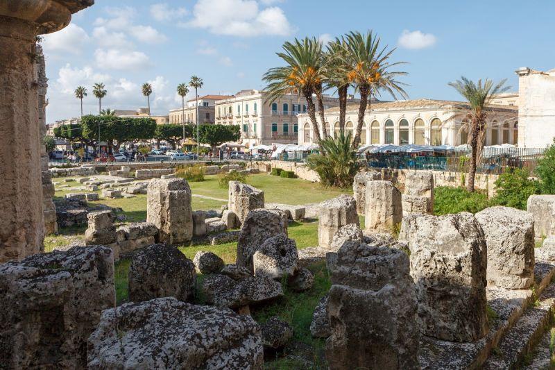 Letovanje Italija Sicilija Sirakuza