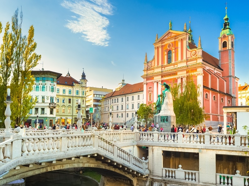 Putovanje Slovenija Ljubljana 2021
