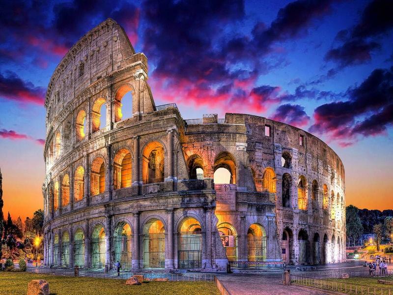 Doček Nove 2020 Godine Rim