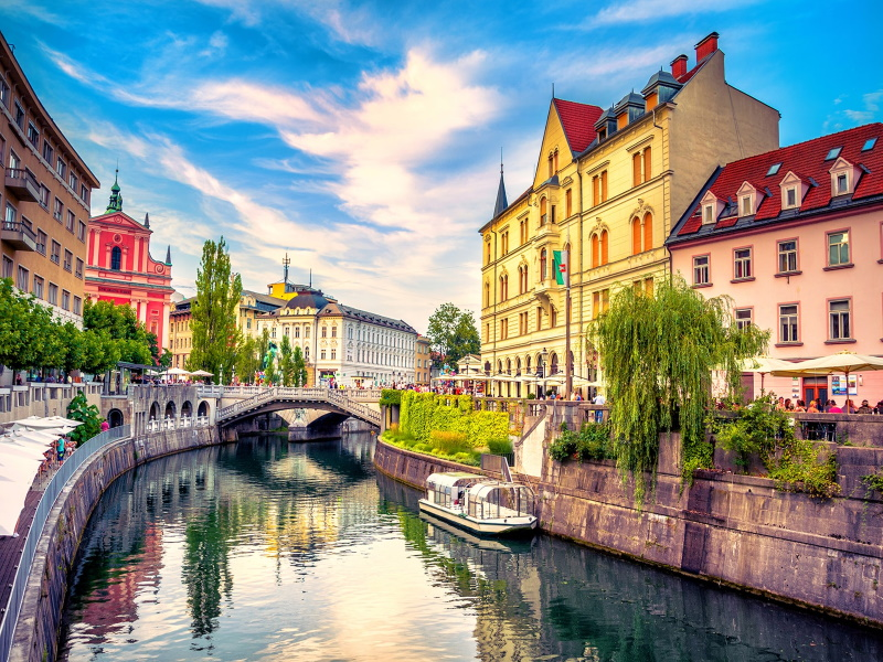 Ljubljana Bled Bohinj 2020
