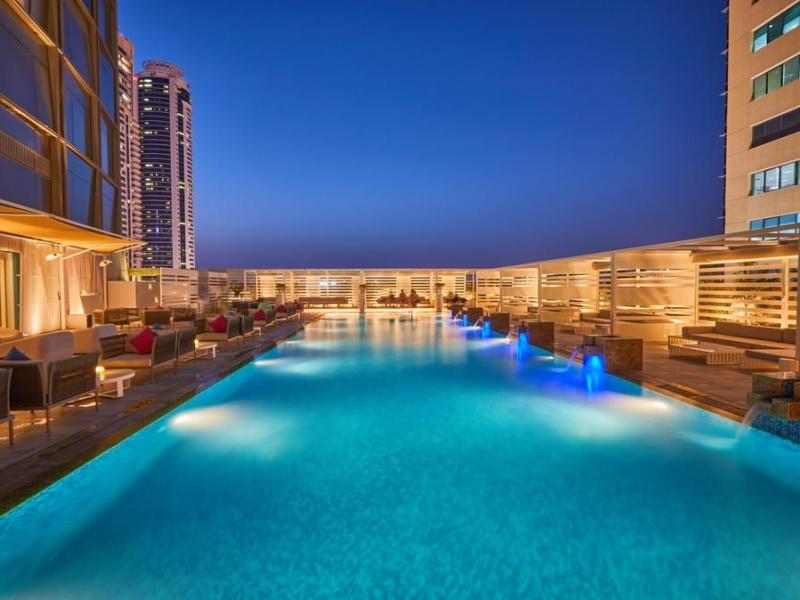 Letovanje Dubai Media One Hotel Dubai Marina 4*