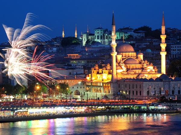 Doček Nove 2020 Istanbul