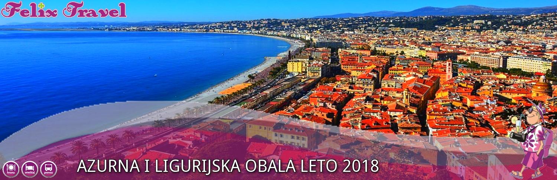 Azurna i Ligurijska Obala Leto 2018 USKORO!!!
