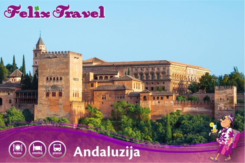 Andaluzija Španija Leto 2017