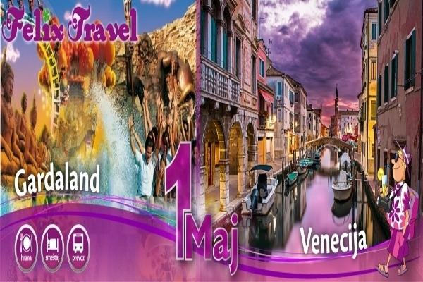 Prvi Maj Venecija Gardaland 2018