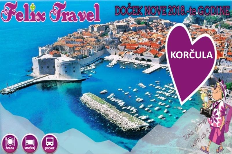 Doček Nove 2018 Godine Dubrovnik Korčula