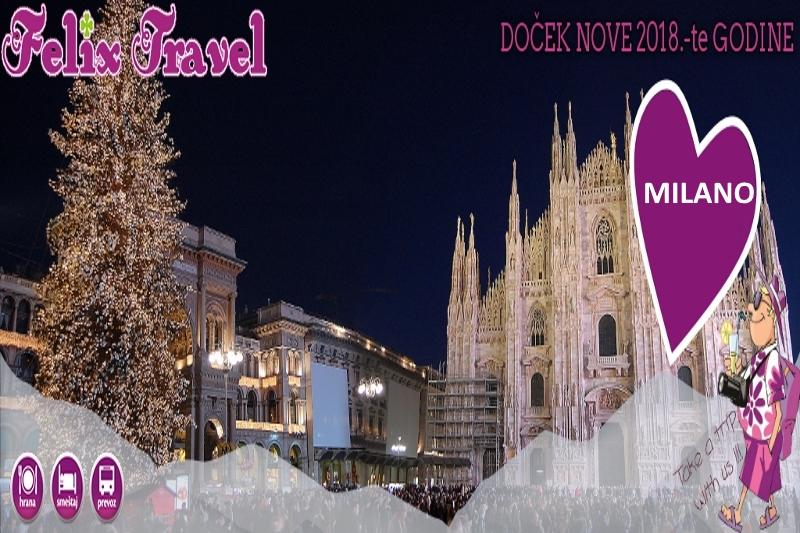 Doček Nove 2018 Godine Milano