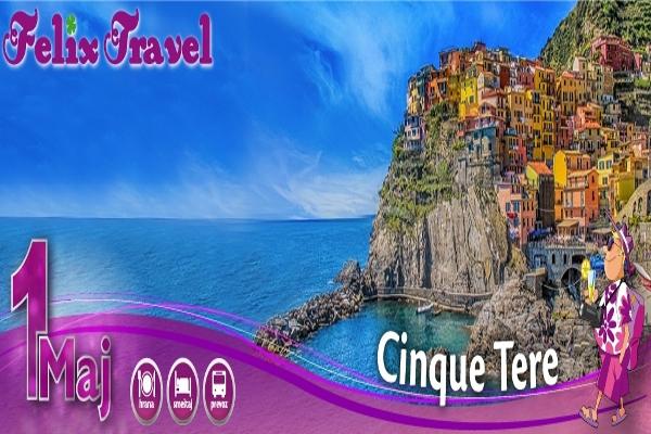 Prvi Maj Cinque Terre 2018