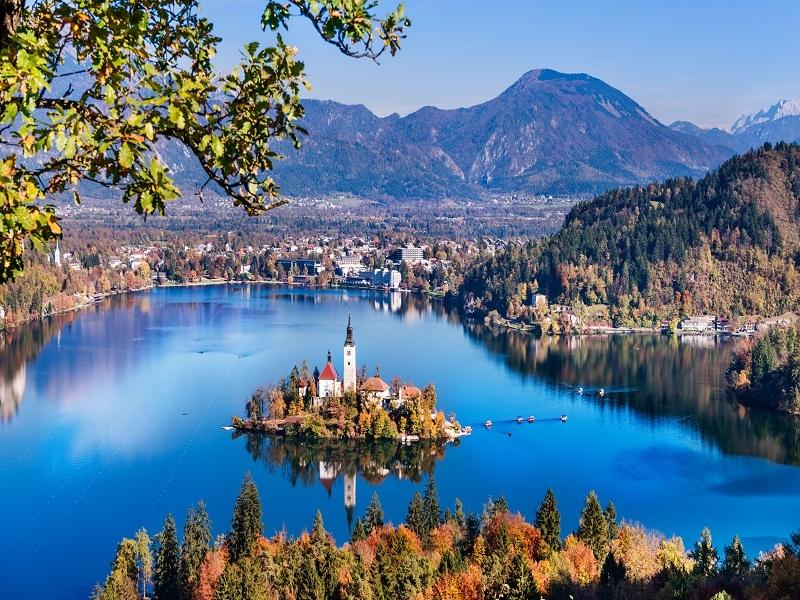 Putovanje Leto Bled Jezero